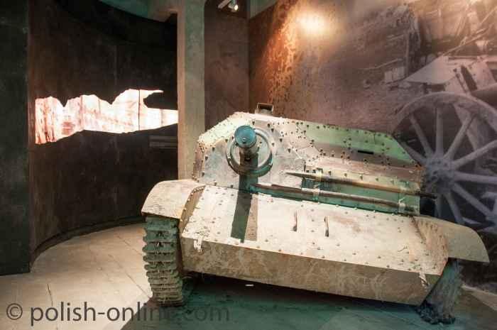 Panzer TKS im Oskar-Schindler-Museum Krakau