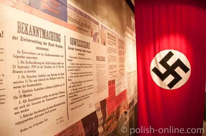 Bekanntmachung der deutschen Besatzer 1939