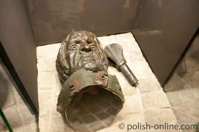 Fragment vom Grunwald-Denkmal, Oskar-Schindler-Museum Krakau