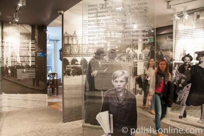 Infotafel im Museum Fabrik Oskar Schindler