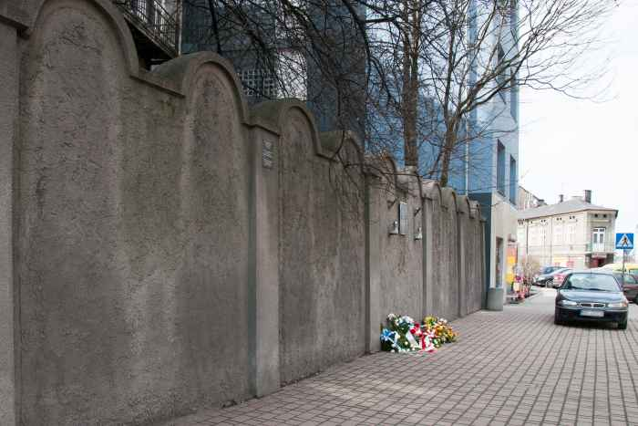 Ghetto-Denkmal in Podgórze in Krakau