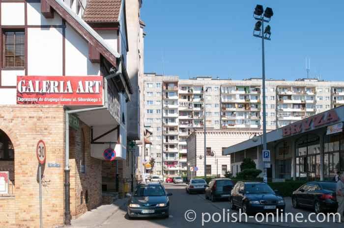 Plattenbauten Kolberg (Kołobrzeg)