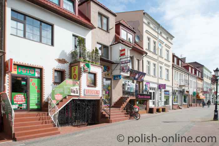Einkaufsstraße Kolberg (Kołobrzeg)