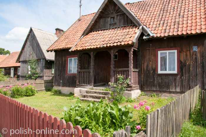 Holzhaus in Liebenberg (Klon) Masuren