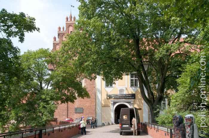 Ein im barocken Stil errichteter Anbau im Osten der Burg von Allenstein (Olsztyn)