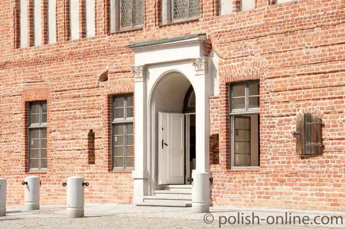 Altes Rathaus in Allenstein (Olsztyn)