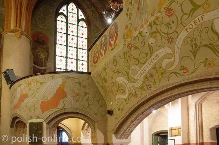 Orgelempore der Garnisonskirche in Allenstein (Olsztyn)