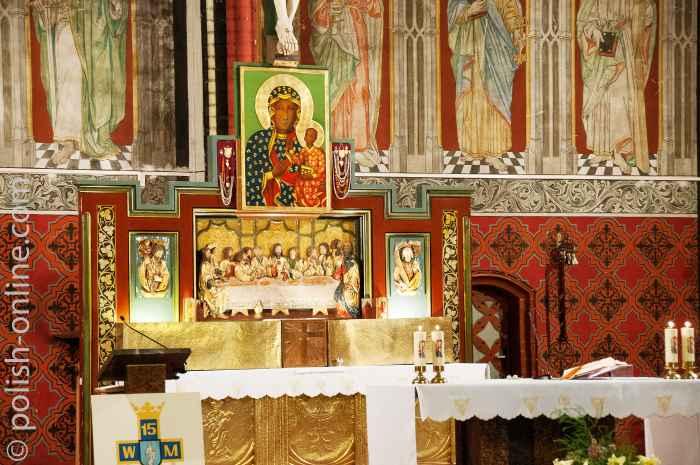 Altar der Garnisonskirche in Allenstein (Olsztyn)