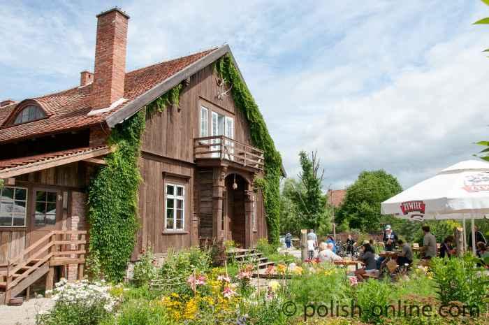 Das ehemalige Jagd- und Forsthaus aus Steinort (Sztynort).