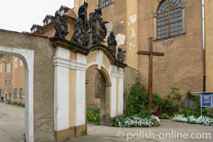 Tor an der Pfarrkirche