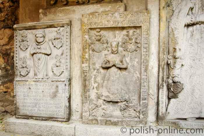 Epitaphien aus dem 16. und 17. Jhd.
