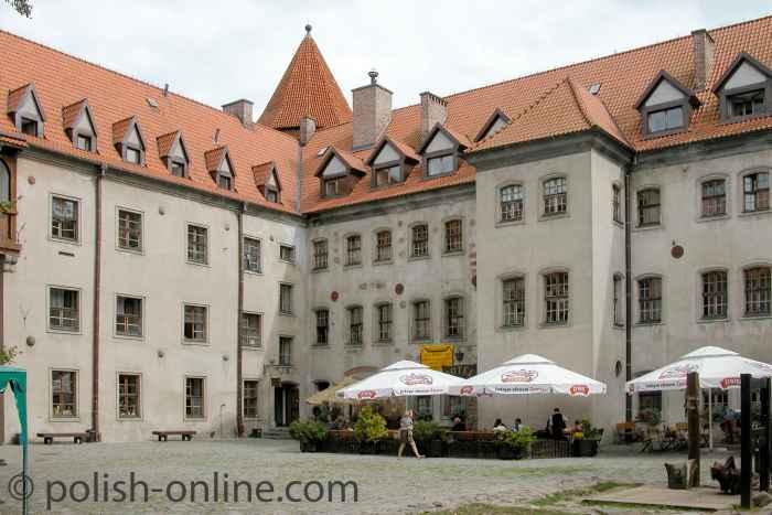 Herzoghaus in der Burg Bürtow (Bytów)