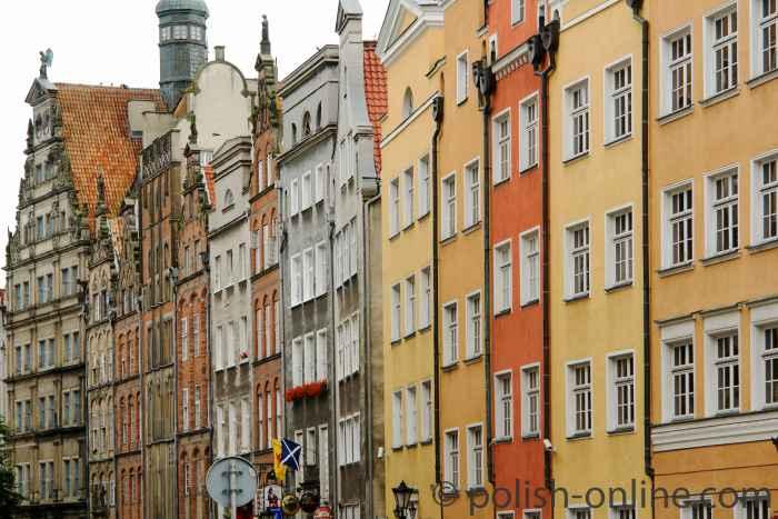 Bürgerhausfassaden Danzig
