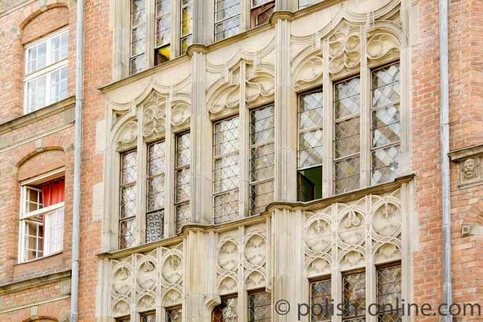 Spätgotische Fassade