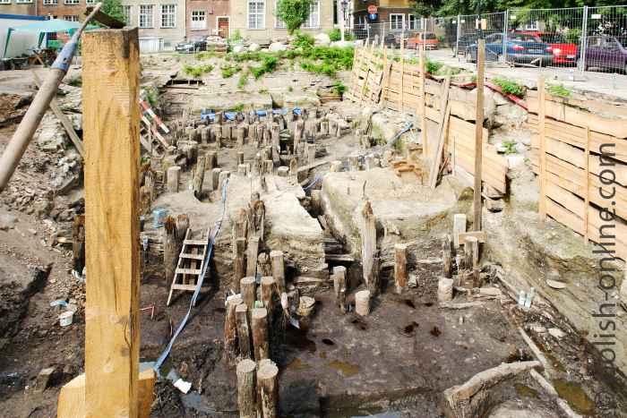 Ausgrabungen Danziger Innenstadt