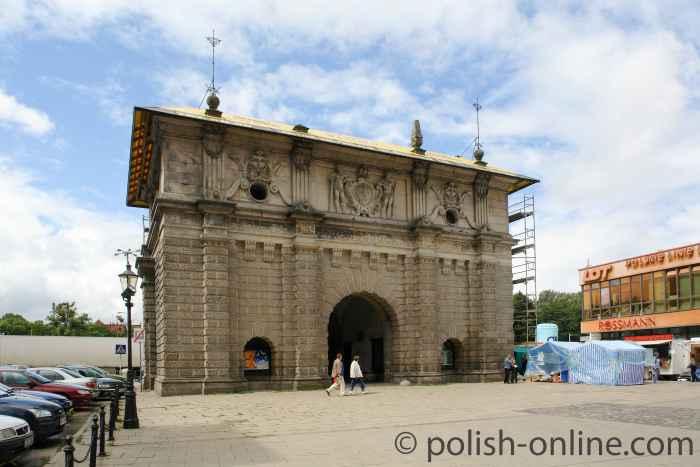 Das Hohe Tor Danzig