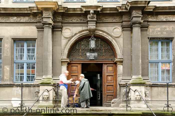 Eingangsportal zum Englischen Haus