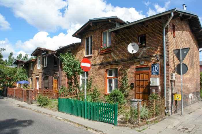 Arbeiterhäuser in Danzig (Gdańsk)