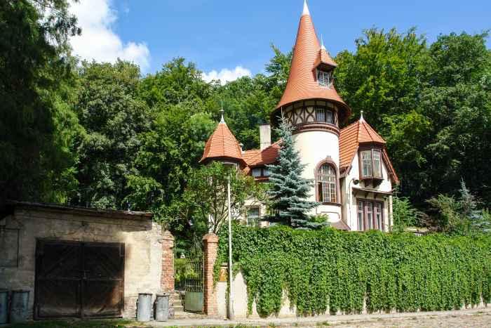 Villa im Danziger Stadtteil Jäschkental