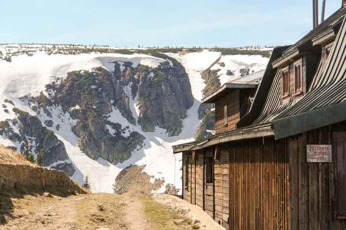 Schneereste im Riesengebirge