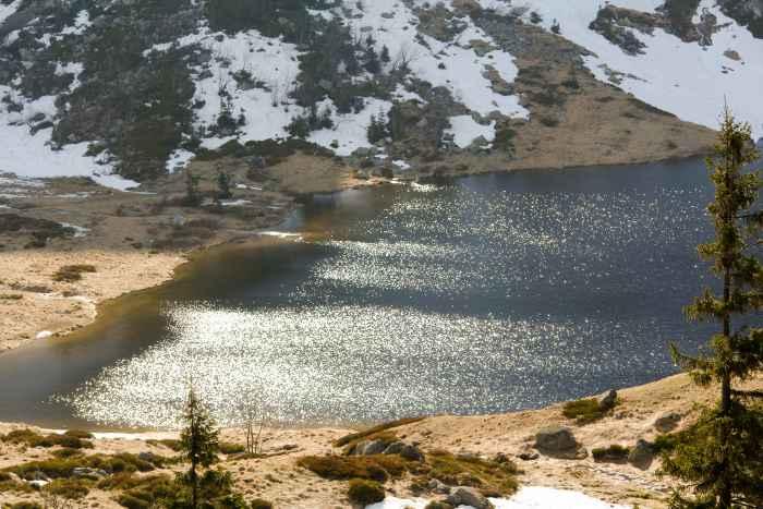 Kleiner See im Riesengebirge