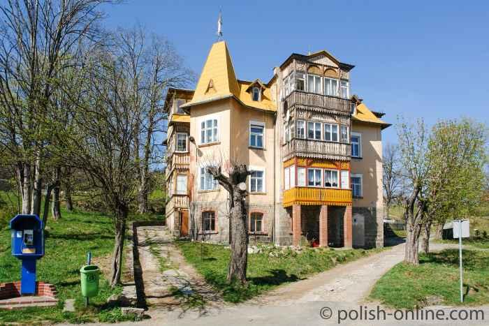 Altes Haus in Karpacz Górny