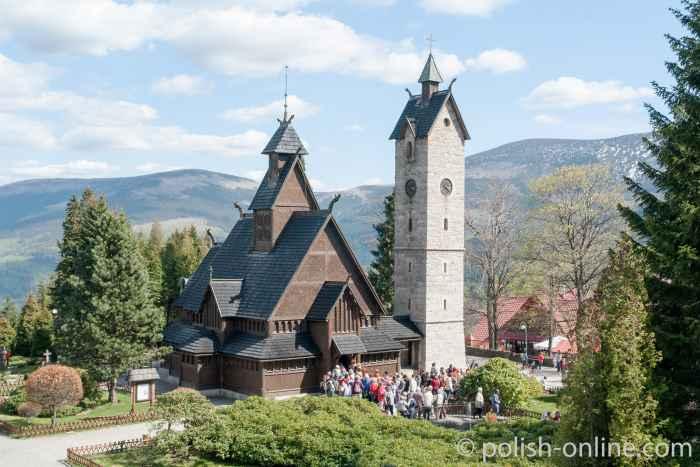 Kirche Wang in Krummhübel (Karpacz)