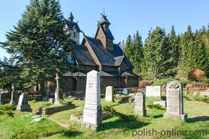 Grabsteine Friedhof Kirch Wang in Krummhübel (Karpacz)