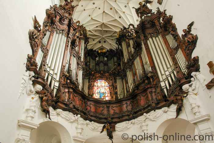 Rokoko-Orgelprospekt Oliva