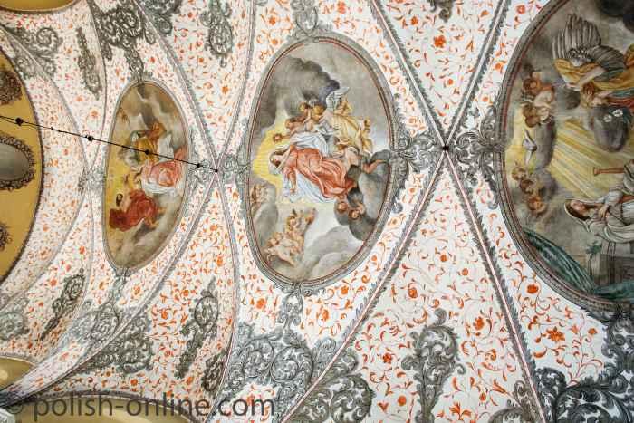 Deckenmalerei in der Kapelle des Zisterzienserklosters