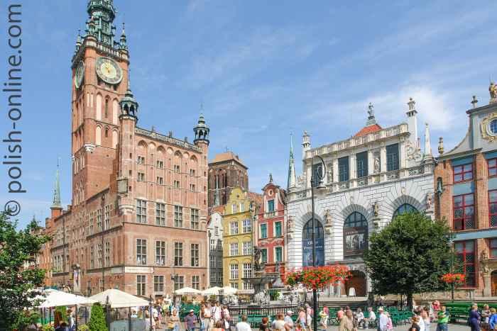 Rechtstädtisches Rathaus Danzig