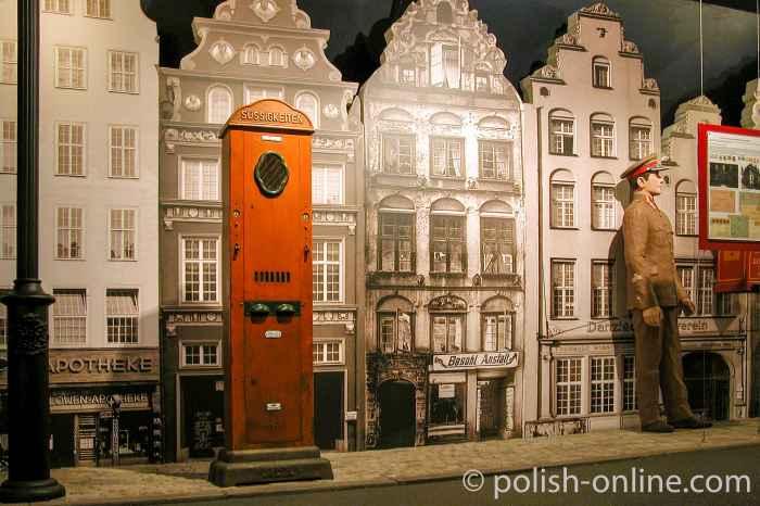 Ausstellung über das Leben in Danzig