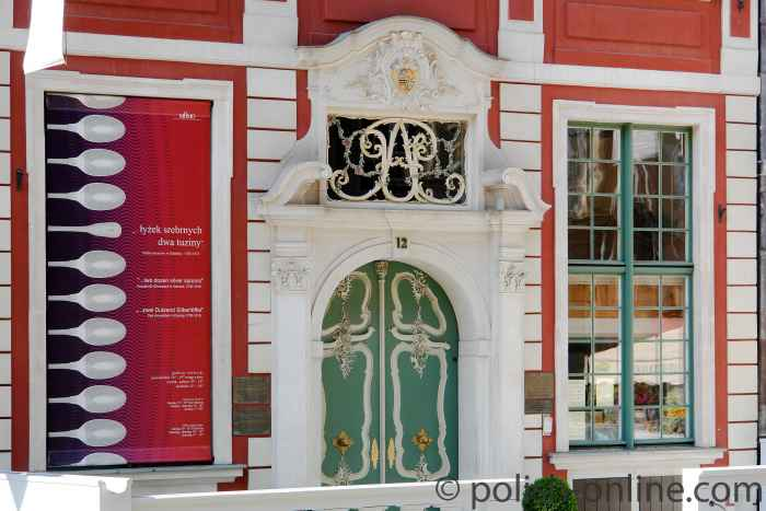Eingangsportal des Uphagenhauses in Danzig