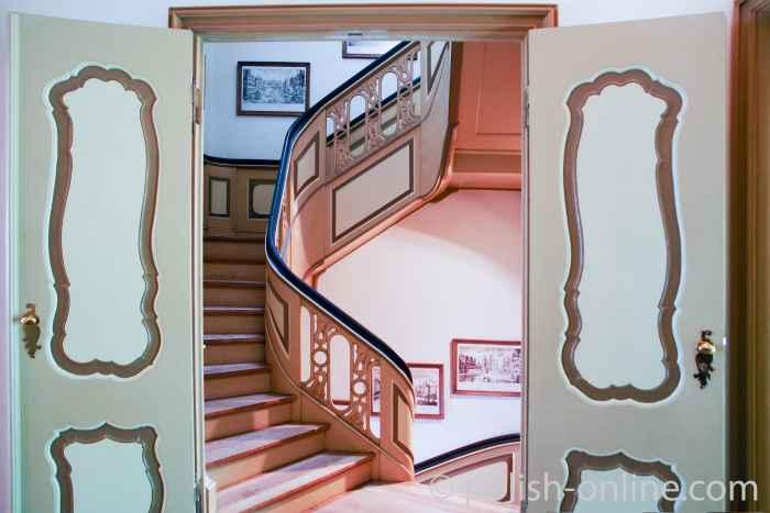 Blick in das Treppenhaus