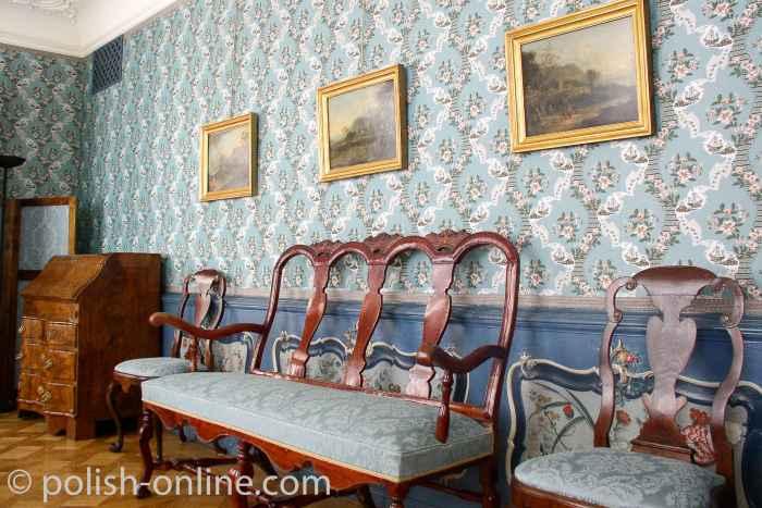 Kleiner Salon im Uphagenhaus Danzig