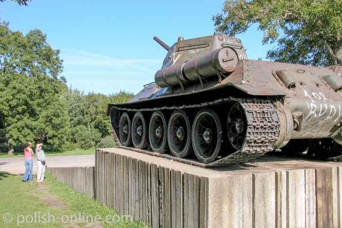 Panzer T 34 der polnischen Armee