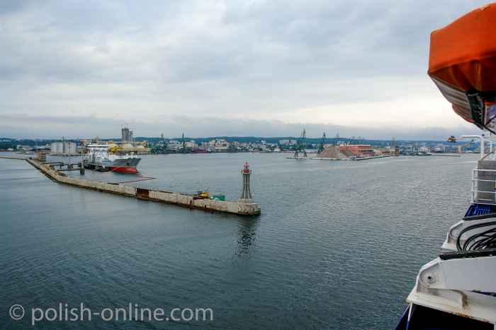Hafeneinfahrt Gdingen (Gdynia)