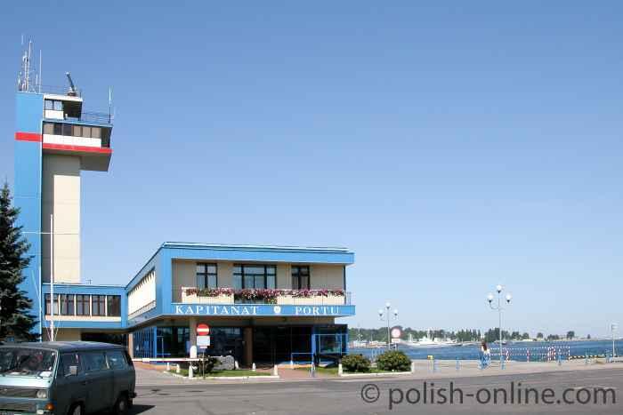 Gebäude des Hafenmeisters Gdingen (Gdynia)
