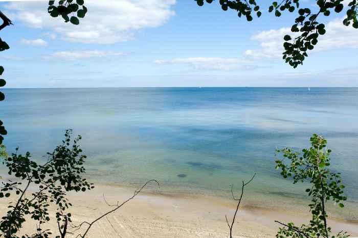Strand an der Hochredlauer Kämpe