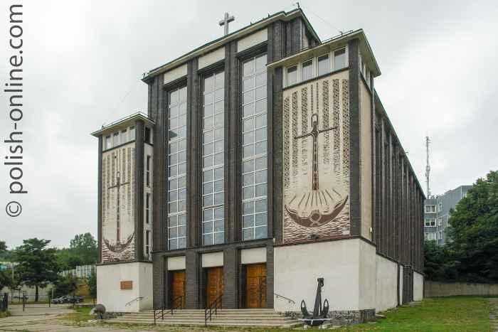 Garnisonskirche in Gdingen (Gdynia) Oxhöft