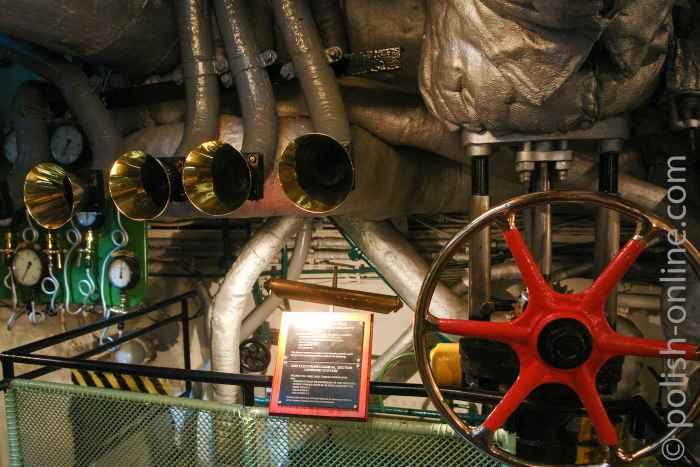Zentrale des Maschinenraums