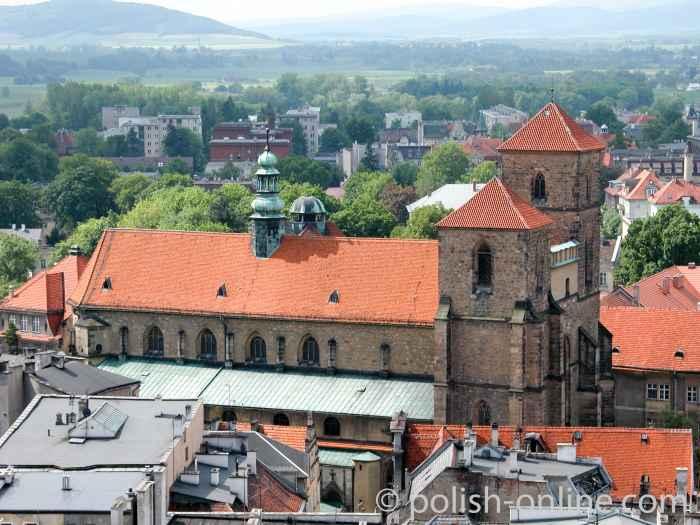 Pfarrkirche Mariä Himmelfahrt in Glatz (Kłodzko)