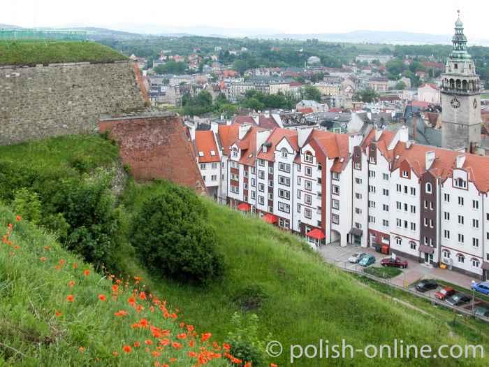 Glatzer Innenstadt mit Rathaus