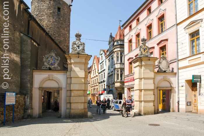 Schildauer Tor in Hirschberg (Jelenia Góra)