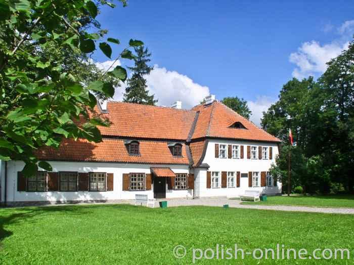 Geburtshaus von Józef Wybicki, des Verfassers der polnischen Nationalhymne