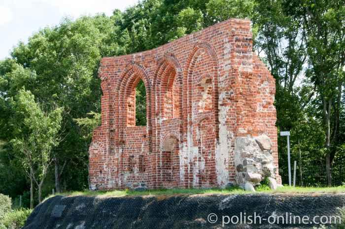 Ruine der Nikolaikirche