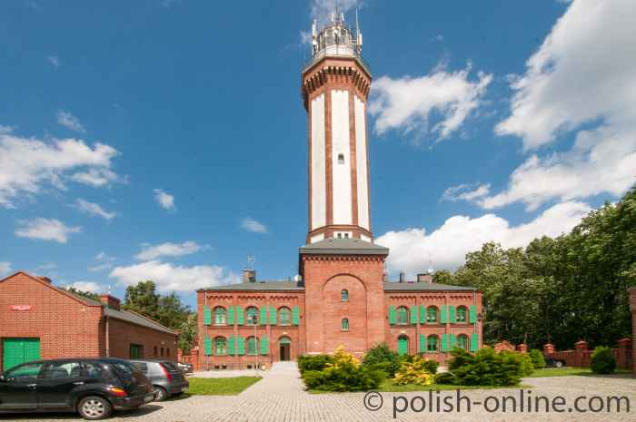 Leuchtturm in Horst (Niechorze)