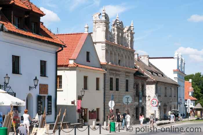 Celej-Patrizierhaus in Kazimierz Dolny