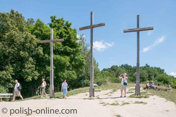 Berg der drei Kreuze in Kazimierz Dolny