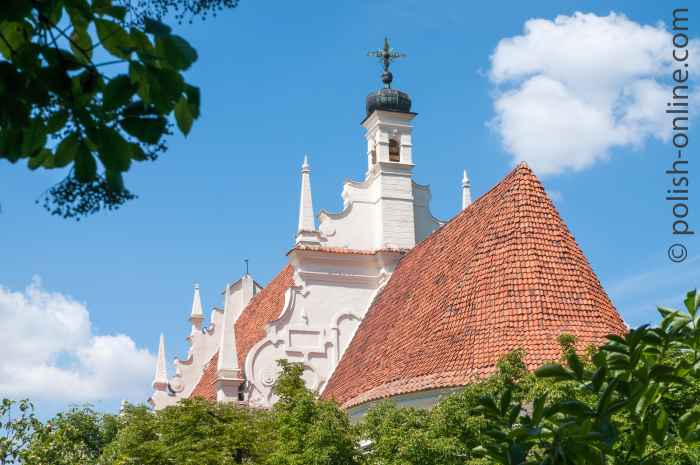 Dach der Pfarrkirche